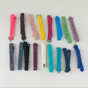 Fitbit | Lot of 17 Band Replacement Bands Colors